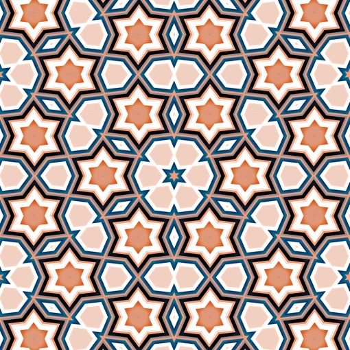 Islamic Arabesque Patterning