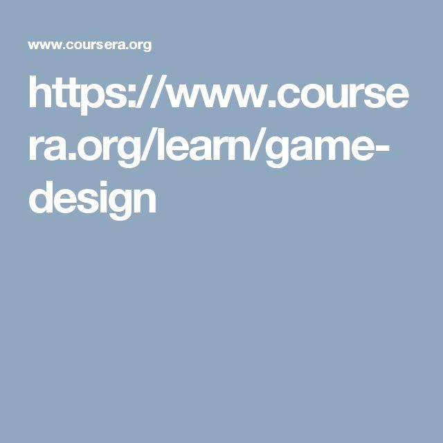 The 25+ best Game design courses ideas on Pinterest Learn a new - video game designer job description