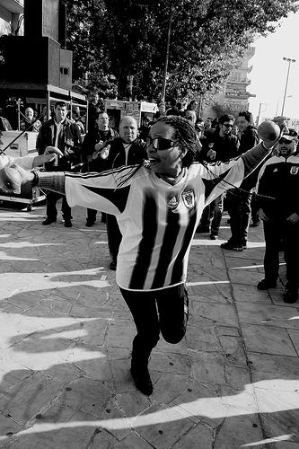 PAOK protest rally - Thessaloniki