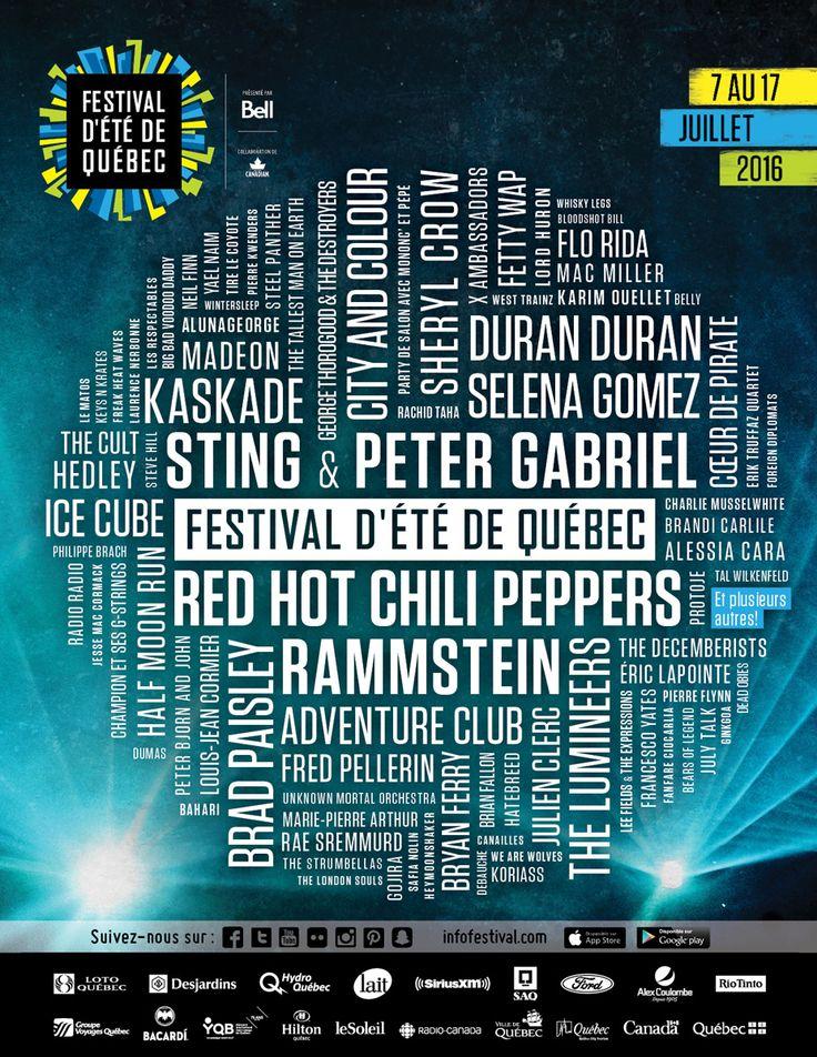Le Festival s'en vient vite! Avez-vous déjà commencé à planifier vos soirées de spectacles? Comme vous pouvez le voir, ce ne sont pas les choix qui manquent!