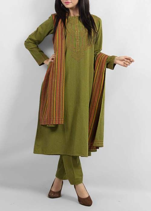 Latest Winter Kurta Designs For Women 2014 | Top Kurta Collection | BestStylo.com