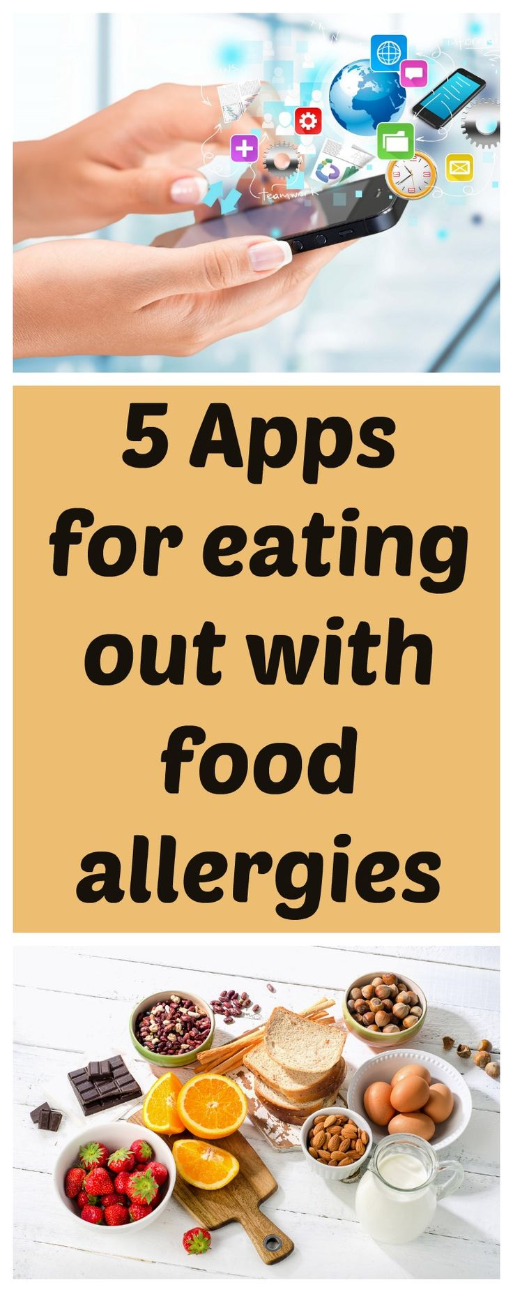 The 9 best apps for food allergies images on pinterest food eating out with food allergies can be daunting but there is good news some great new food allergy apps will have you find somewhere safe and more forumfinder Gallery