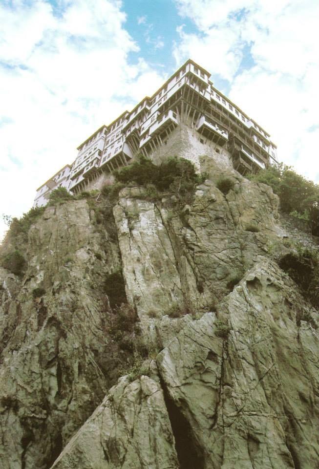 Η Μονή του Προφήτου Προδρόμου ή Νέα Πέτρα - The Monastery of Dionysiou, or Nea Petra (New Rock)
