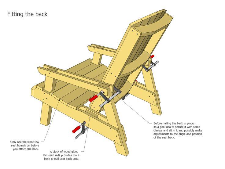 M s de 25 ideas incre bles sobre planos de silla for Sillas para planos