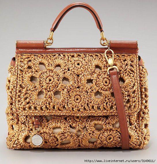 Dolce & Gabbanа crochet purse