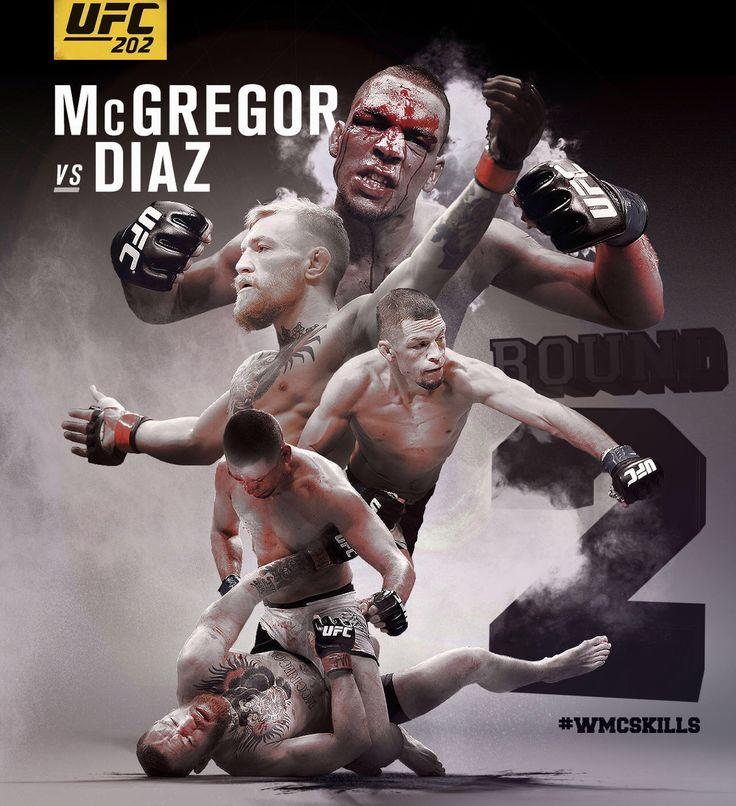 Diaz McGregor UFC 202 MMA #wmcskills