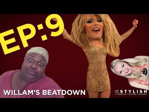 Willam's Beatdown Episode 9!    Hold on to your wigs, it's gonna be a wild ride! This week on Willam's Beatdown, Willam learns how to look like The Joker, discusses mustache removal tricks and sings the toilet song! And of course, he does this all while looking fabulous! (You can barely even see the a trace of a beard!)