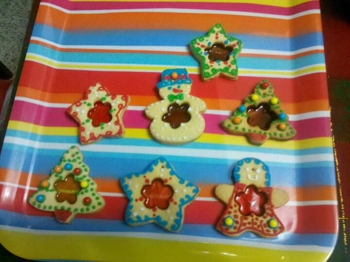 Stainedglass cookies