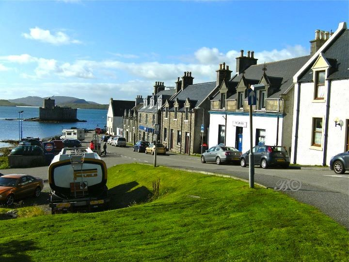 The Main Street, Castlebay, Isle of Barra, Western Isles (Outer Hebrides), Scotland