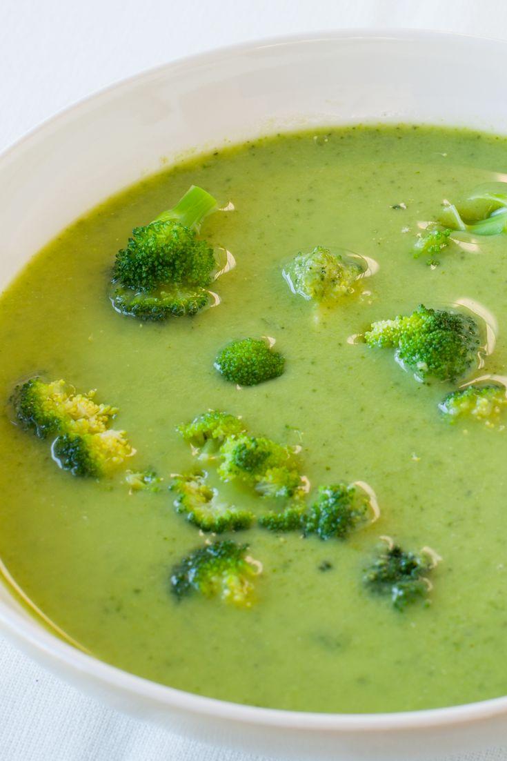 Cream of Broccoli Soup #meatless #vegetarian