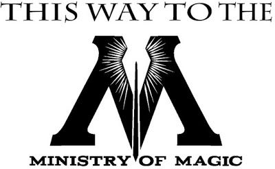 Beauty by a Geek: Ministry of Magic Printable
