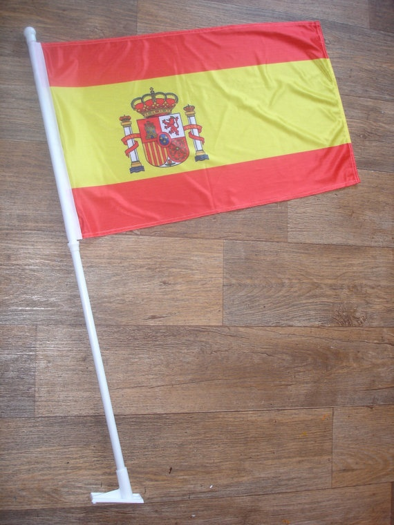 custom made spain flag by customflag on Etsy, $55.00