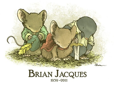 Go to Brian Jacques' grave to pay my respects, and find the place that inspired him to write Redwall