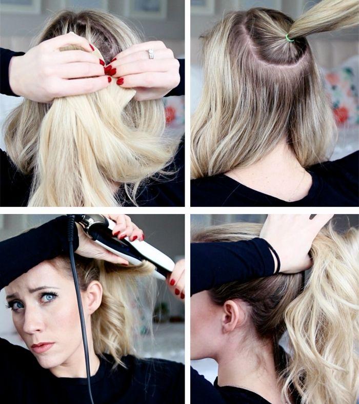 Fabuloso peinados con coletas altas Galería de cortes de pelo Ideas - 1001 + ideas sobre peinados con coleta bonitos y moderno ...