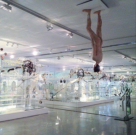 David Altmejd, Flux (Installation View), via Art Observed