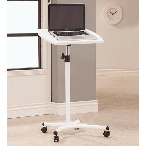 Coaster Home Furnishings 800484 Laptop Stand With Casters.
