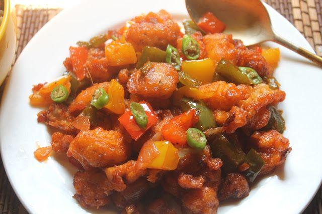 YUMMY TUMMY: Chilli Gobi / Dry Chilli Cauliflower – Indo Chinese Recipes