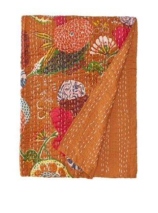 Printed Kantha, Rust, 60