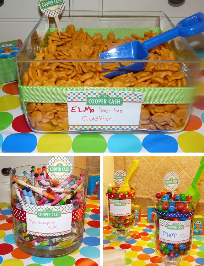 Sunny days....! Love Sesame Street and these ideas too!