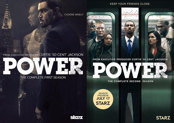 Power Seasons 1-2 on DVD