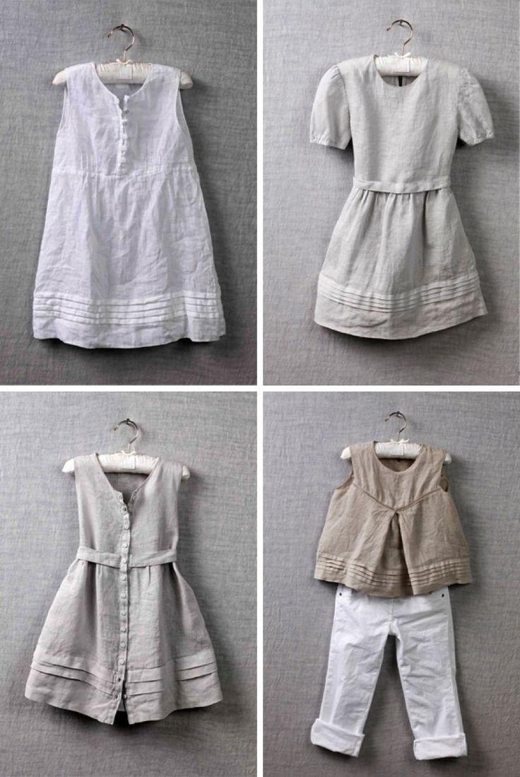 Linen. love linen on littles.: Amish Kids, Girl, Linen Kids Clothes, Kids Fashion, Linens, Linen Baby Clothes