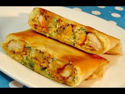 How to make roti / chapati / poli (Layered roti) - YouTube