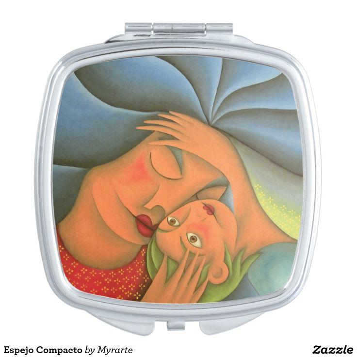 Espejo Compacto Makeup Mirrors. Regalos, Gifts. #espejo #mirror