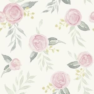 Magnolia Home by Joanna Gaines 56 sq. ft. Watercolor Roses