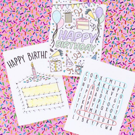 We're sharing 3 free printable birthday cards PLUS an awesome way to put them to good use from DoSomething.org!