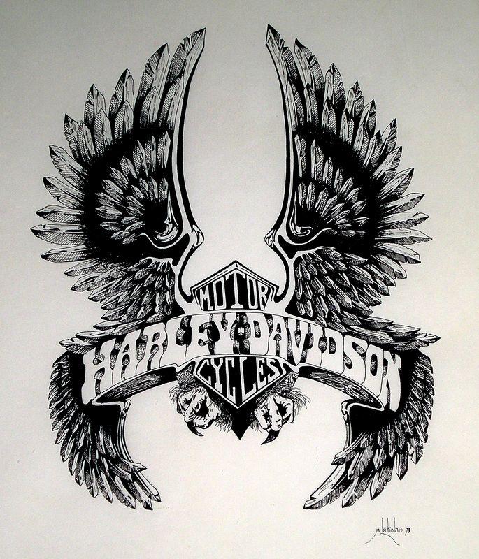 harley davidson tattoos - Google Search
