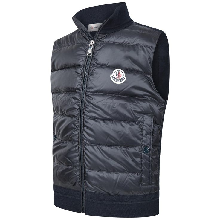 moncler bodywarmer junior