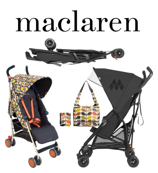 """maclaren"" by mickey-beauty ❤ liked on Polyvore featuring interior, interiors, interior design, home, home decor, interior decorating, Maclaren and Orla Kiely"