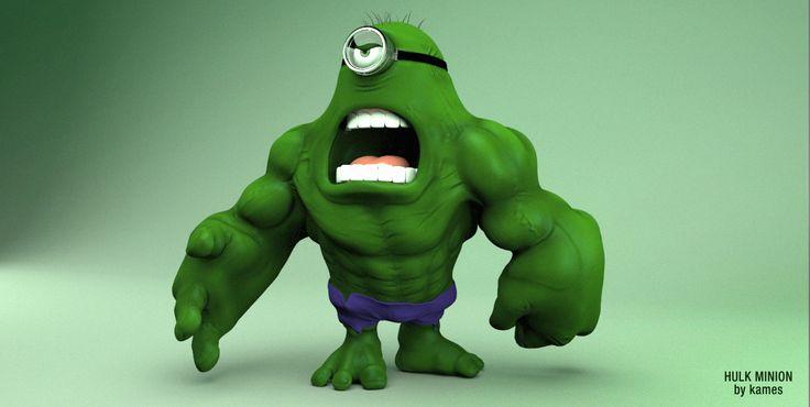 Hulk Minion HD Wallpaper