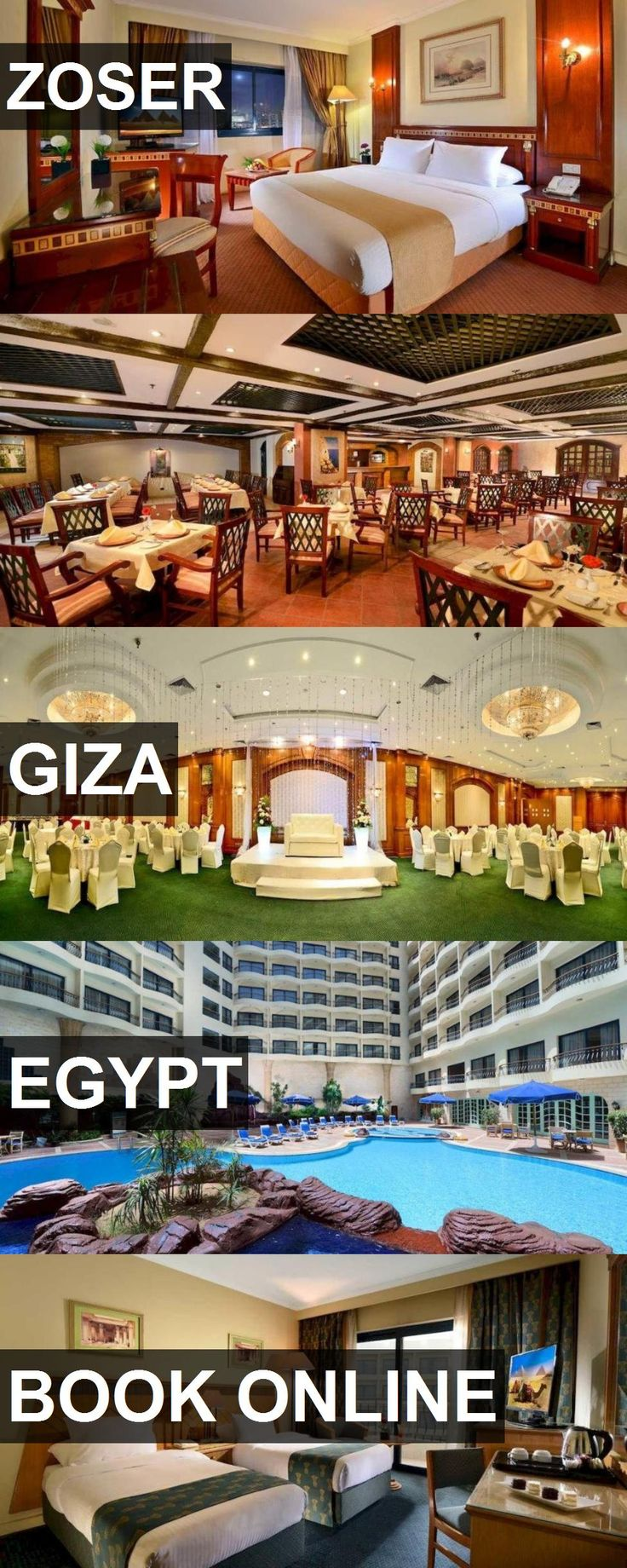 Hotel ZOSER in Giza, Egypt. For more information, photos, reviews and best prices please follow the link. #Egypt #Giza #ZOSER #hotel #travel #vacation