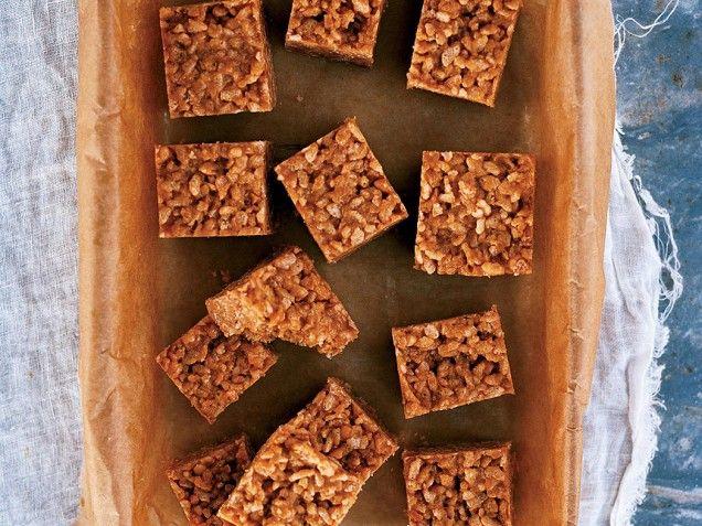 No-Bake Peanut Butter Rice Krispies Cookies - iVillage: Butter Rice, No Bak Peanut, Krispie Cookies, Yummy Food, Rice Krispies Treats, Cookies Recipe, No Baking Cookies, Peanut Butter, Rice Krispie Treats