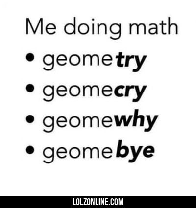 Me When I Do Math... #lol #haha #funny