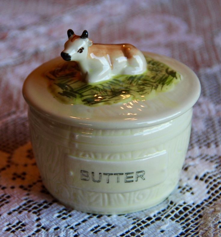 Vintage Reproduction Butter Dish - Marmalade Mercantile