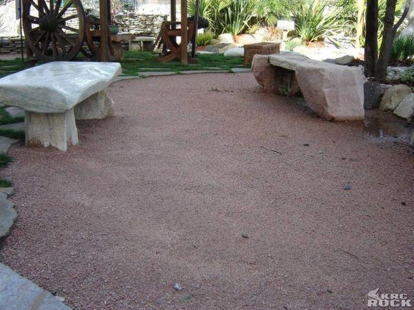Decomposed Granite Patio Area