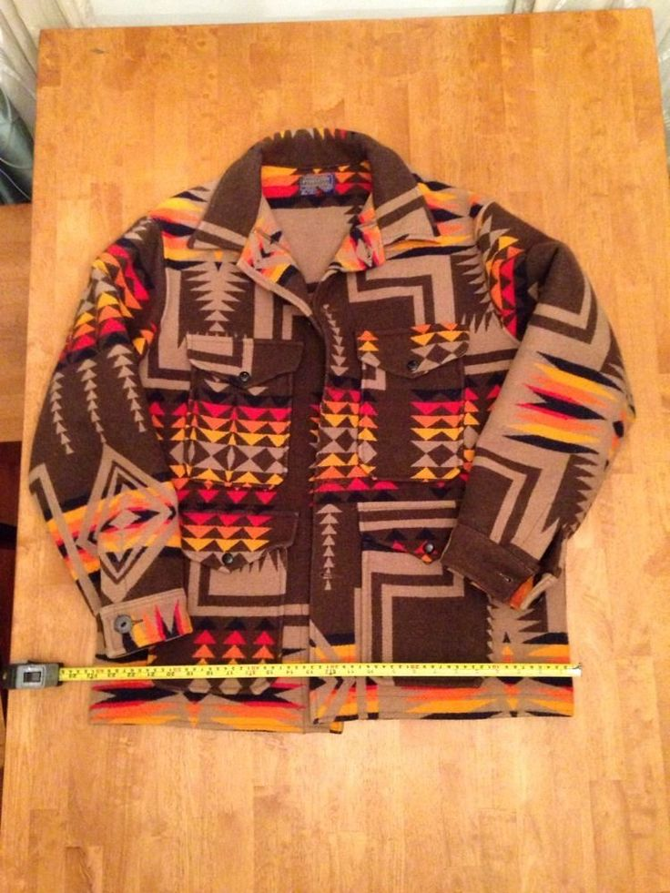 Found Pendleton Mens Vintage Virgin Wool Navajo Sz Xl