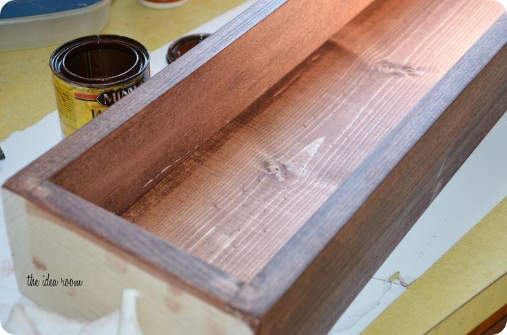 Diy Wood Box Diy Wood Box Wooden Box Centerpiece Wood