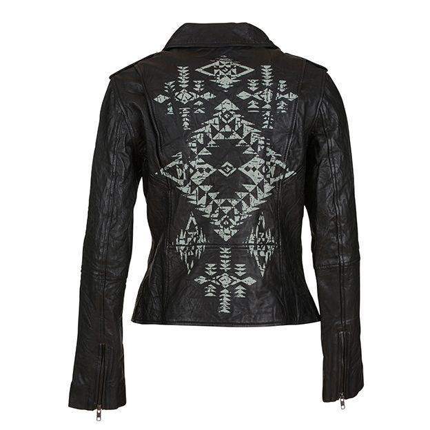 Biker jacket // 11752 (back)