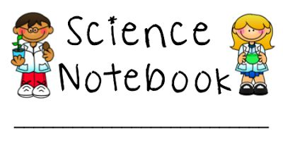 Ladybug's Teacher Files: Science Notebook Labels {printable}