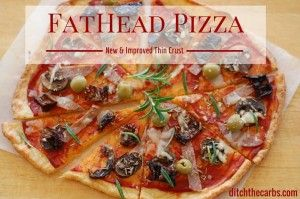 Guys, this is awesome! But watch your toppings! Easy to go over on fat here. ~Fat Head Pizza - The HOLY GRAIL Of Low Carb Pizzas~