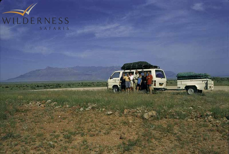 Humble beginnings – the early overlanding days. Click on the image for the full story.