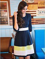 TS Kontraszt Color Swing ruha