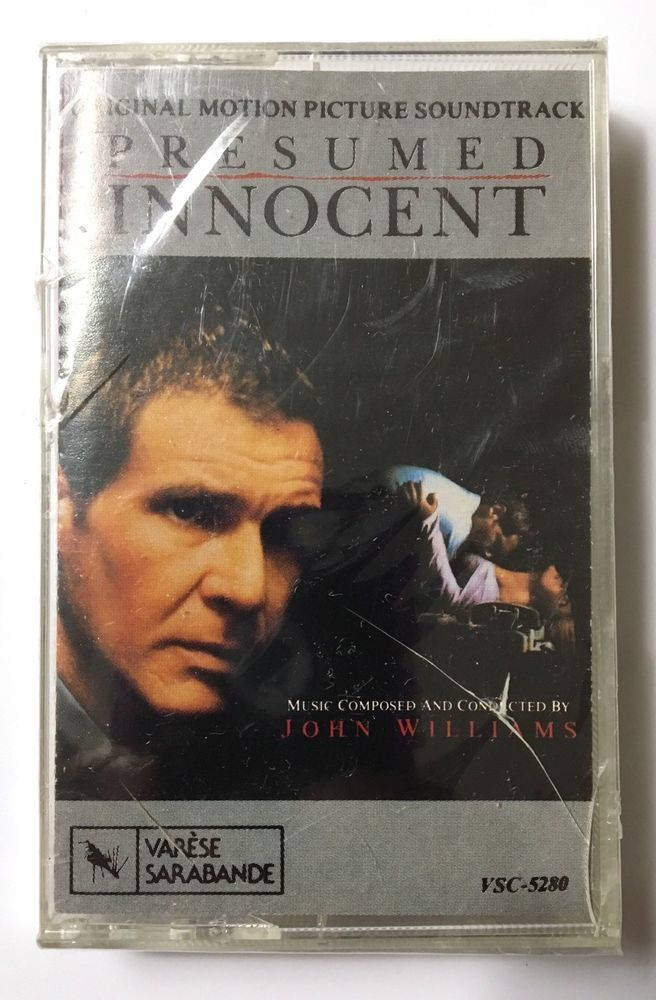 Presumed Innocent OST Original Movie Soundtrack John Williams Music  Cassette NEW  Watch Presumed Innocent