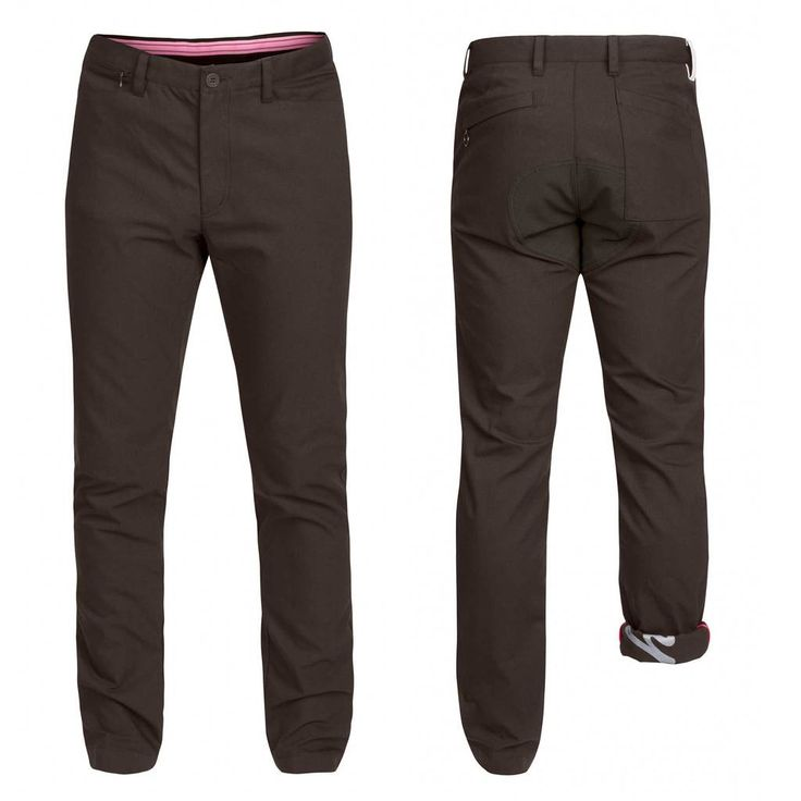 Touring Trousers - City cycling trousers made from a robust, midweight cotton-synthetic blend.