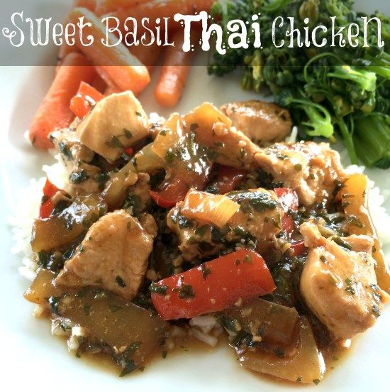 Sweet Basil Thai Chicken - EpiFamily.com