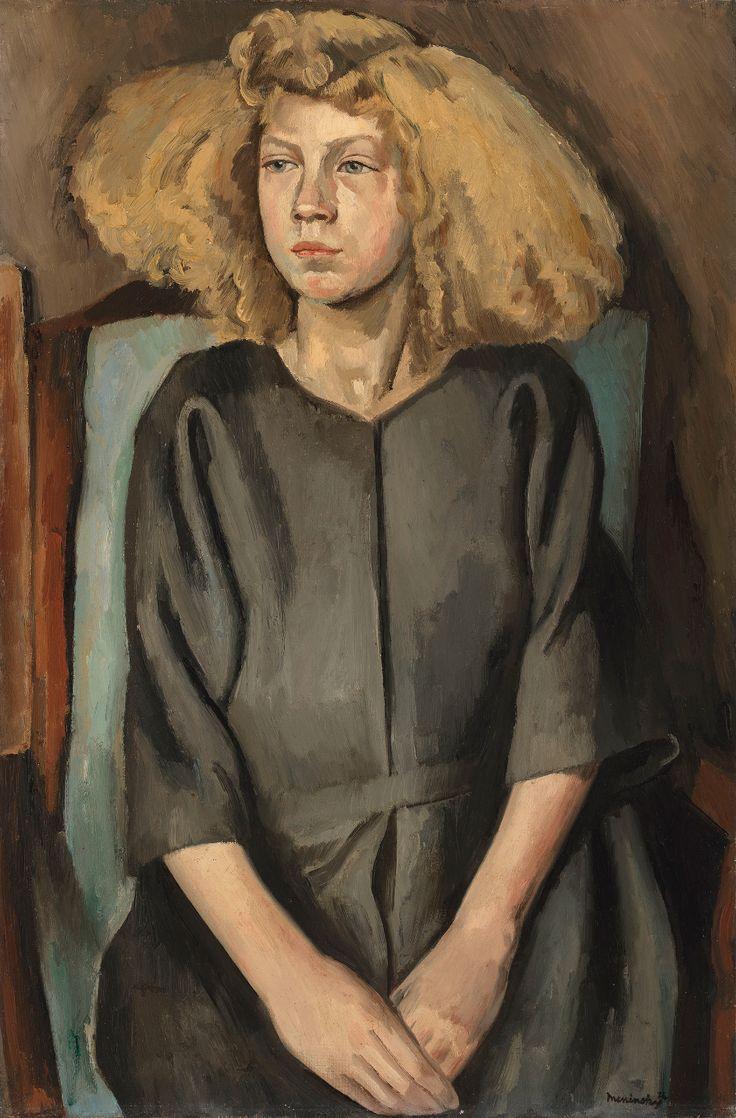 Bernard Meninsky (18911950) The Cockney Girl 20th