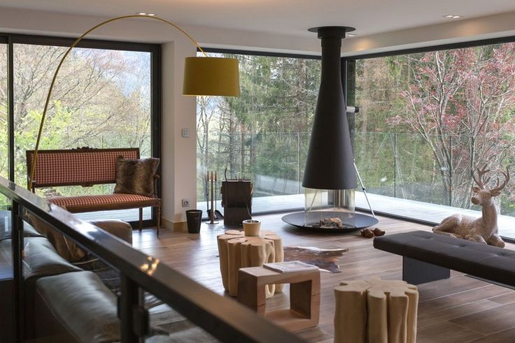 29 best lareiras fireplace chimenea cermica portinari images chalet soley by chevallier architectes fandeluxe Choice Image